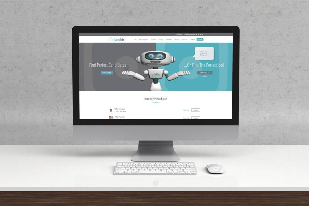 Candibots Website