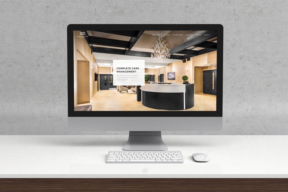 Complete Care Management Website