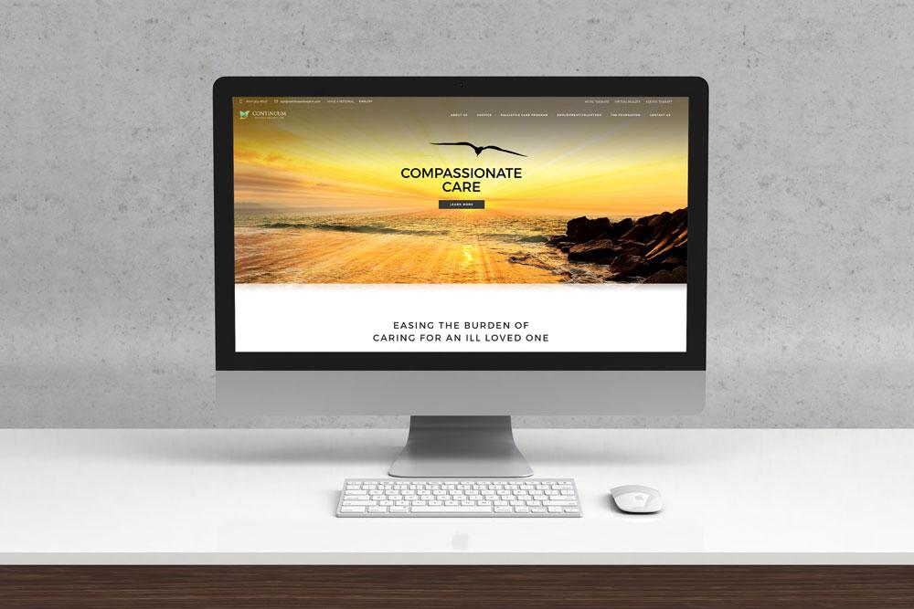 Continuum Hospice & Palliative Care Website