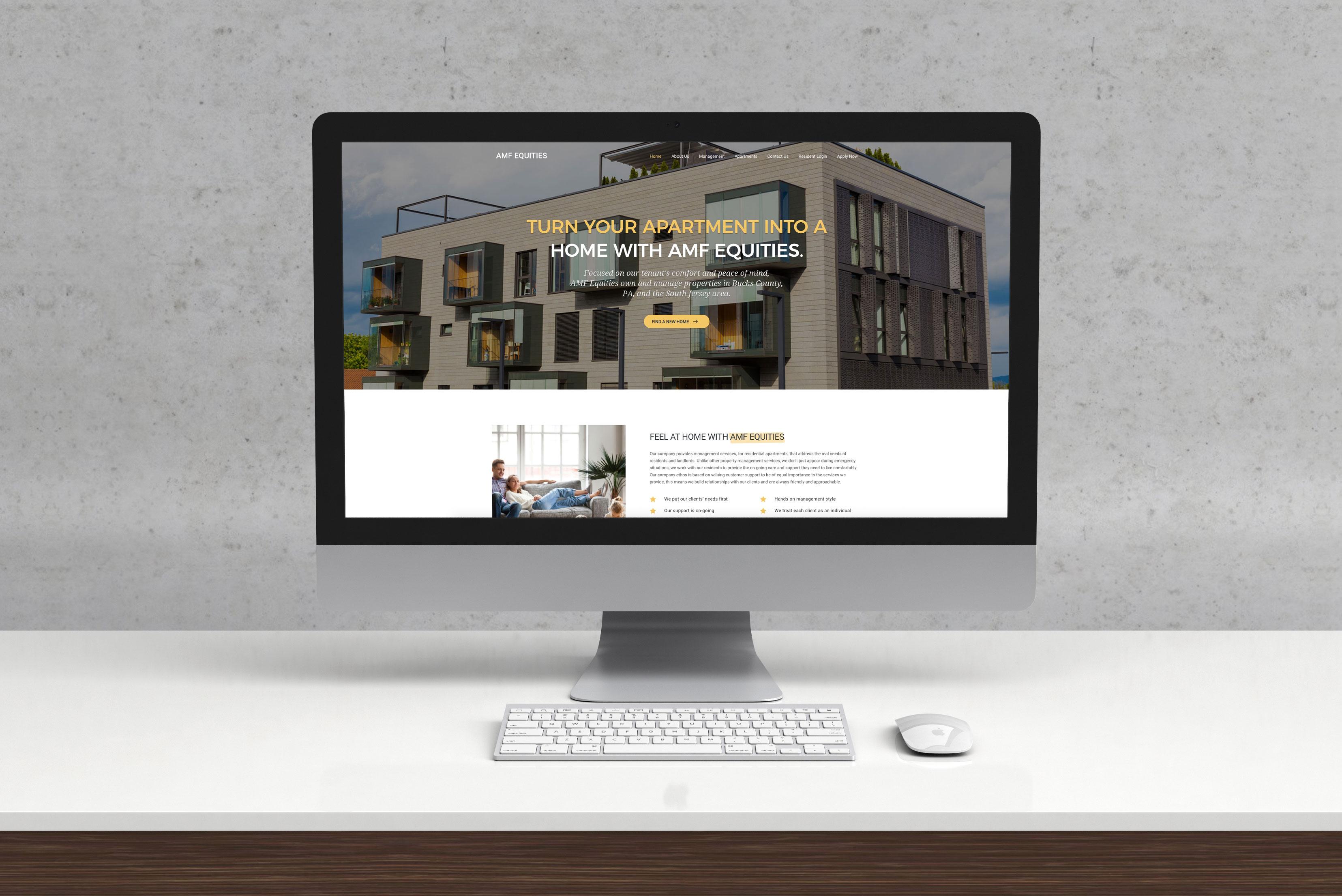 Amf Equities Website