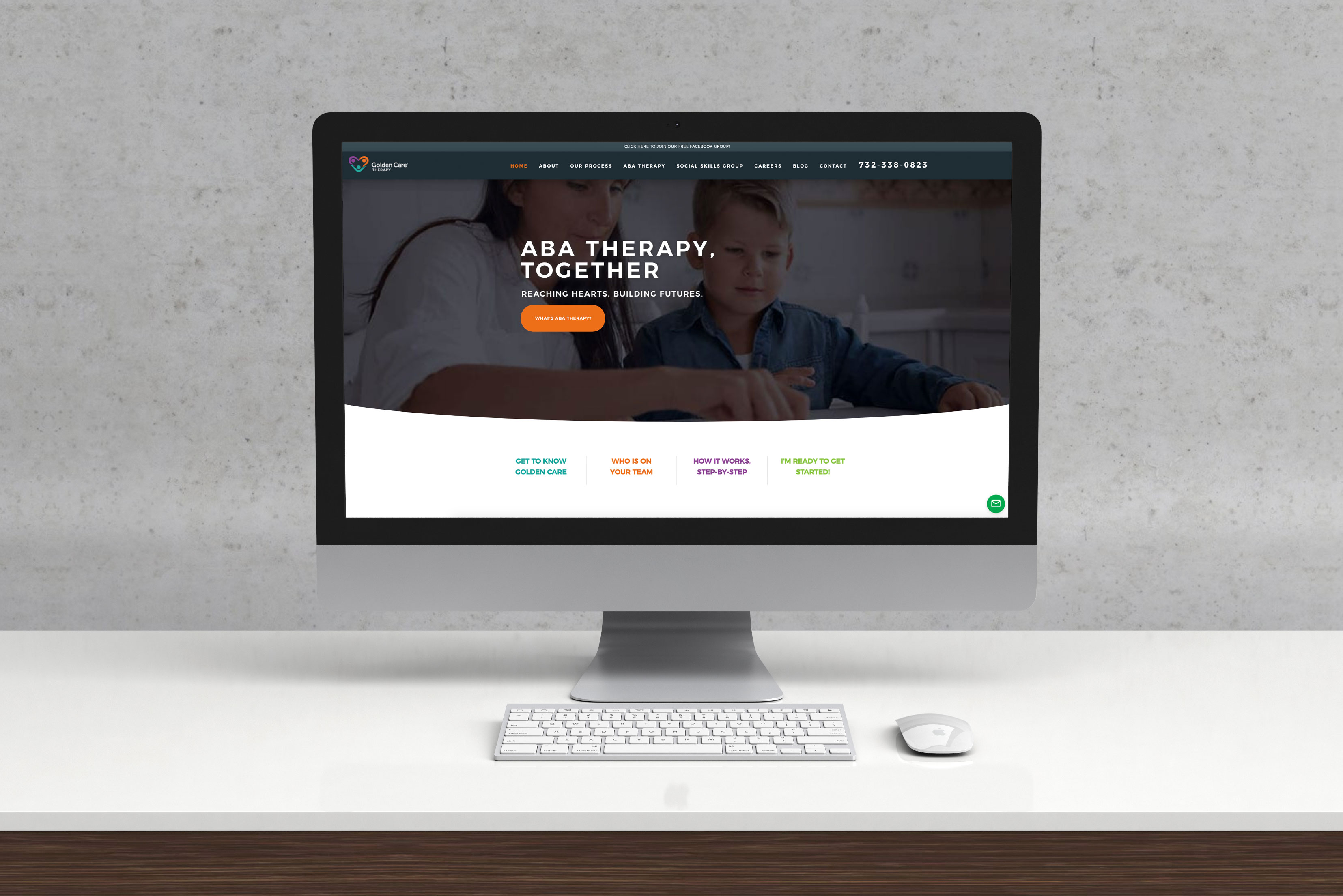 Golden Care Therapy Website