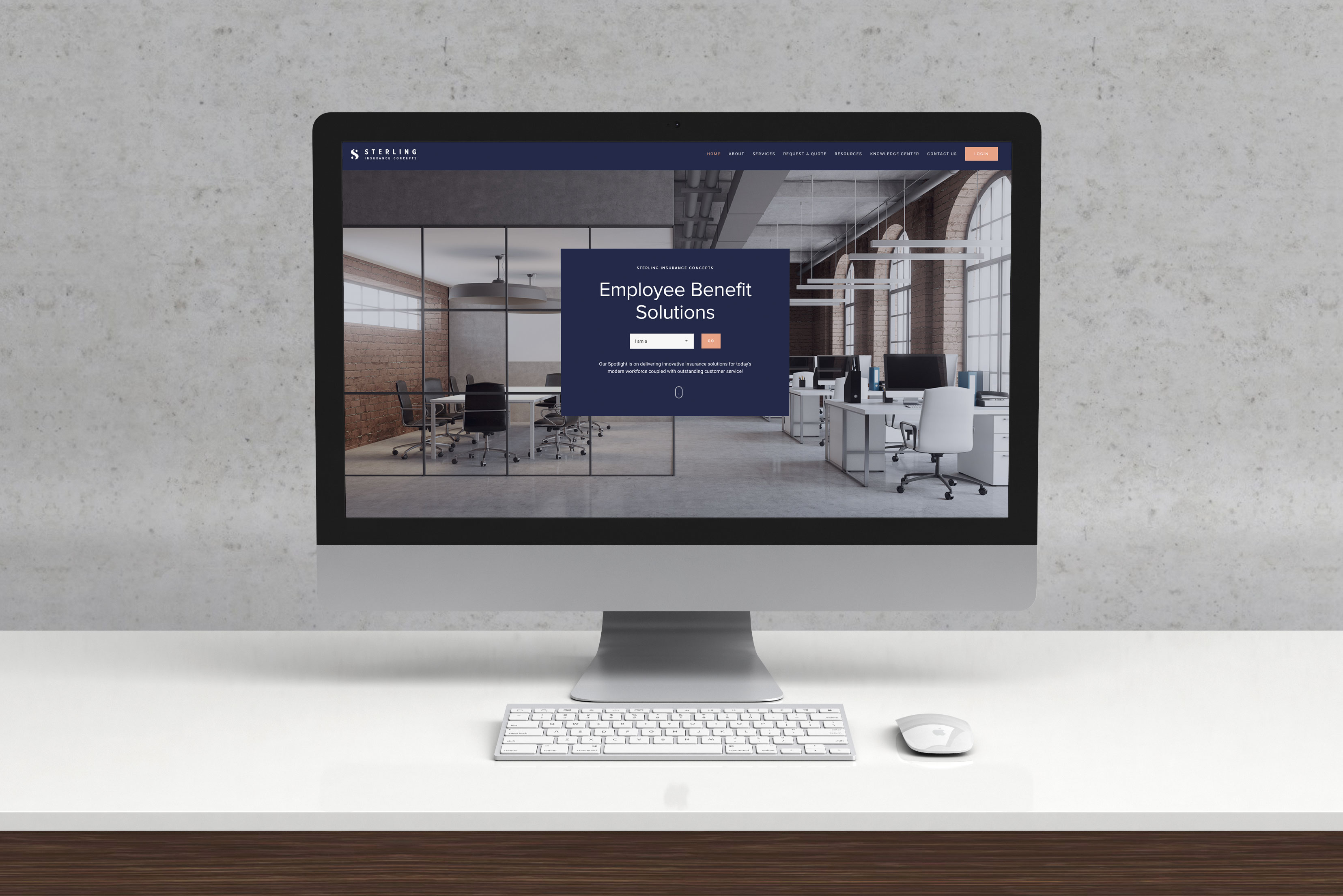 Sterling Insurance Concepts Website
